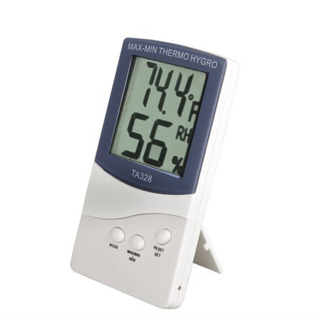 Professional Digital Lcd Indoor/Outdoor Thermometer Hygrometer ...