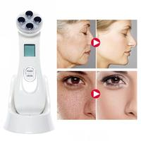 Led Photon Rejuvenation Instrument EMS Face Massage Lifting Tighten Device Wrinkle Acne Eye bags Removal Facial Beauty Equipment