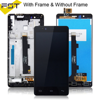 LCD Pantalla Tactil Con Marco For BQ Aquaris E5 4G 0982 TFT5K0982FPC A2 E LCD Display With Touch Screen Digitizer+Frame