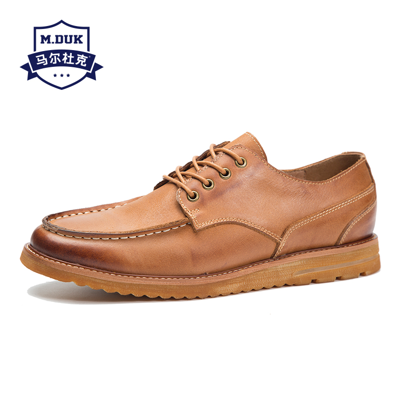 цены spring autumn summer new men's casual shoes real leather British reto business leisure shoes men all-match cowhide sneaker