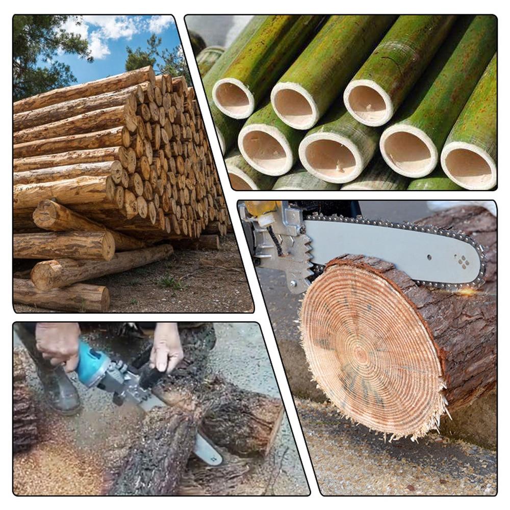 """Image 5 - Multifonction bricolage scie à chaîne électrique convertisseur support outil de travail du bois pour 100mm 4 """"meuleuse dangle tronçonneuse scie électriqueÉlectrique Scies   -"""