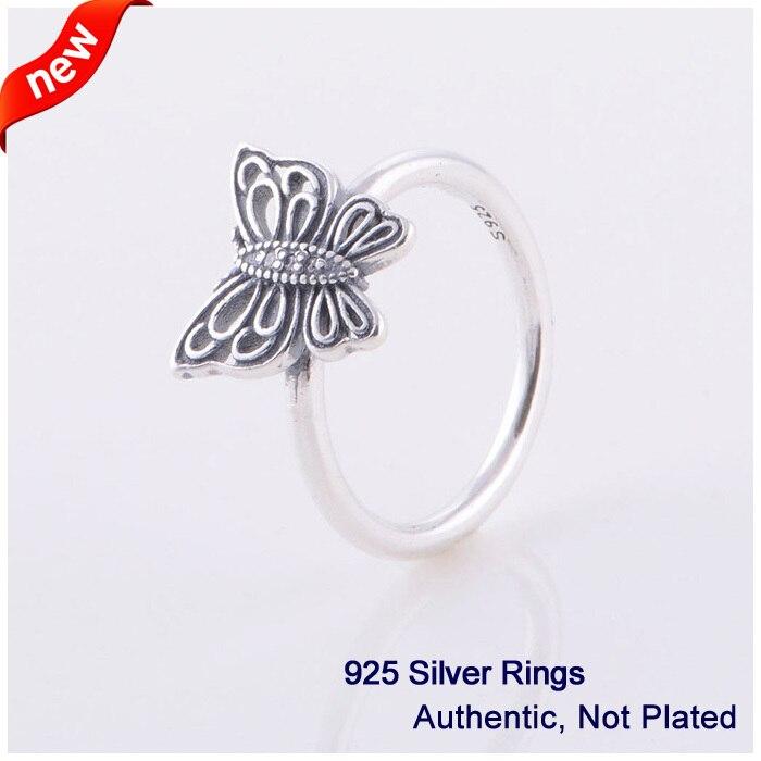 Láska bere letokruhy 100% 925 autentické mincovní stříbro šperky zdarma