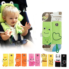 Baby Car Seat Safety Belt Strap Cover Pad Shoulder Pads Soft Protection Cushion Stroller Accessories