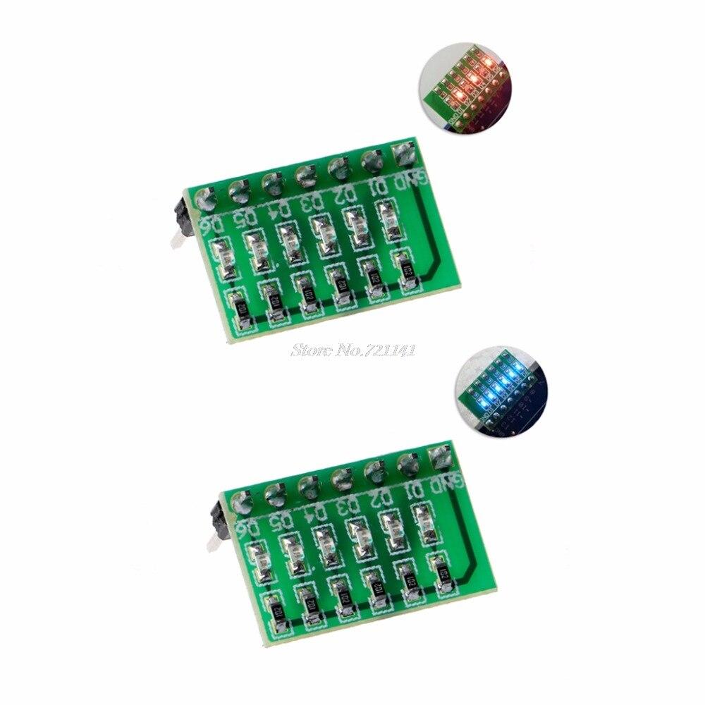DC 3-12V 6 Bit Multicolor LED Module Board For DUE UNO MEGA2560 MEGA LED Modules Integrated Circuits