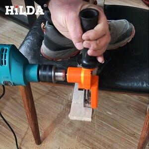 Image 5 - Hilda sem fio reciprocating saw metal ferramenta de corte de madeira acessório broca elétrica com lâminas ferramenta elétrica