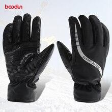 BOODUN Unisex Bicycle Gloves Contact Display Non-Slip Breathable Full Finger Biking Gloves For Autumn & Winter Biking gear