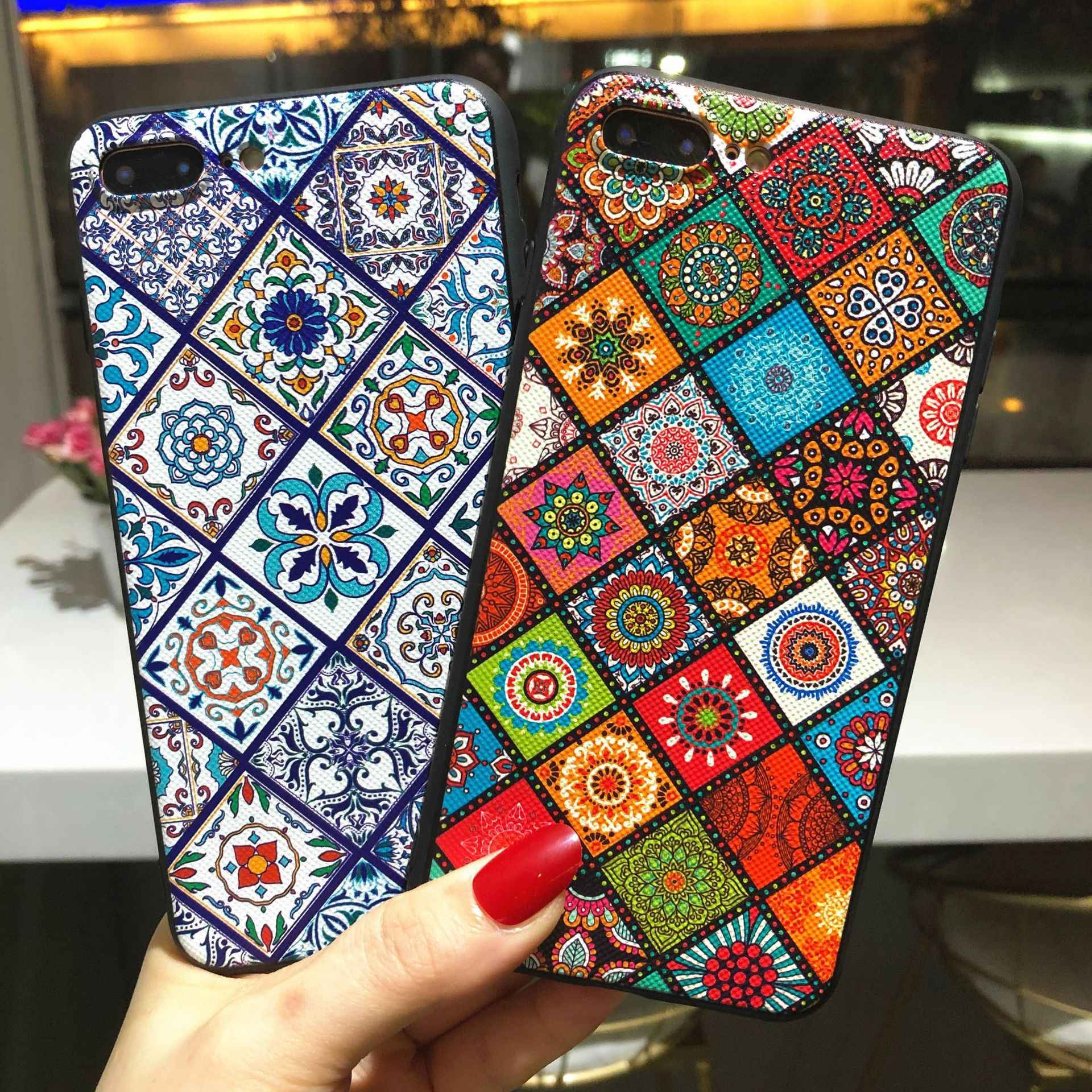 Çiçek kabartma Samsung kılıfı A70 telefon kılıfı yumuşak silikon arka kapak Samsung Galaxy A10 A20 A30 A40 A50 A30S A50S A10S A20E