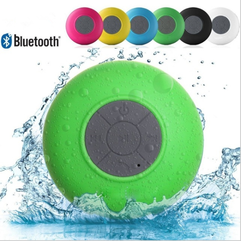 Fashinable BTS – 06 Mini Bluetooth Water Resistant Shower Speaker with Sucker Support Hands-free Calls For Laptop/Smartphone/MP3