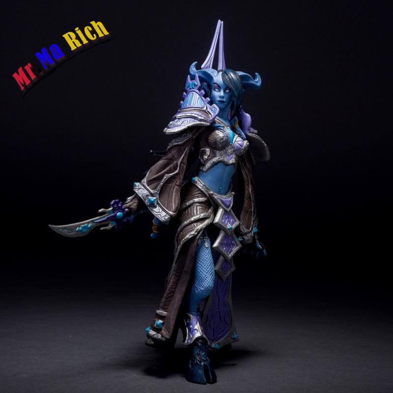 Hit Wow Online Game Series 3 Draenei Mage Figure Figurine Doll New Pvc Toy Magic Collection 22cm