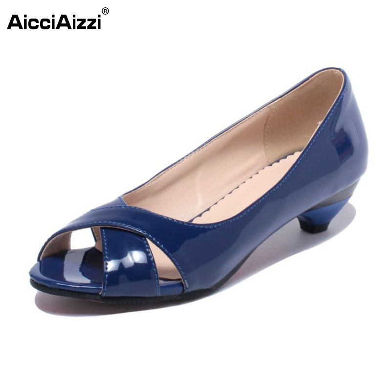 Women High Heel Shoes Peep Toe Sexy Ladies Office Dress Shoes Woman Patent Leather Heeed Heels Pumps Footwear Size 31-43 PA00417 woman pumps high heels basic ladies bowknot heel womens pumps thin heels sexy office shoes for women plus size us 10 5