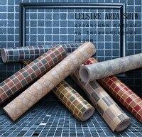 Free Shipping PVC Self Adhesive Kitchen Bathroom Mosaic Wallpaper