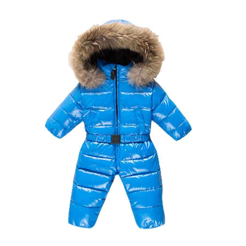 2018 Baby boys 90% winter thick rompers baby girls snowsuit coat kids outerwear clothes children Solid jumpsuit infant costume baby children winter kids boys girls double side wear hoodie cloak baby clothes bebe poncho cape coat outerwear