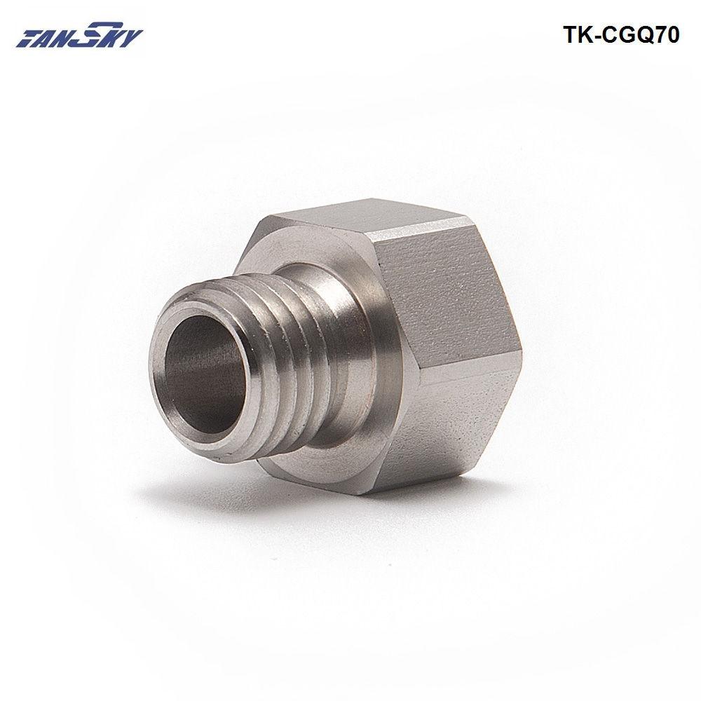 Metric Fitting M12X1.25 M12 Female to M12X1 Male Adapter Gauge Oil Fuel L-AL