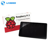 Original Official Raspberry Pi 7 Inch TFT LCD Touch Screen Shield Monitor Display 800 480 Stander