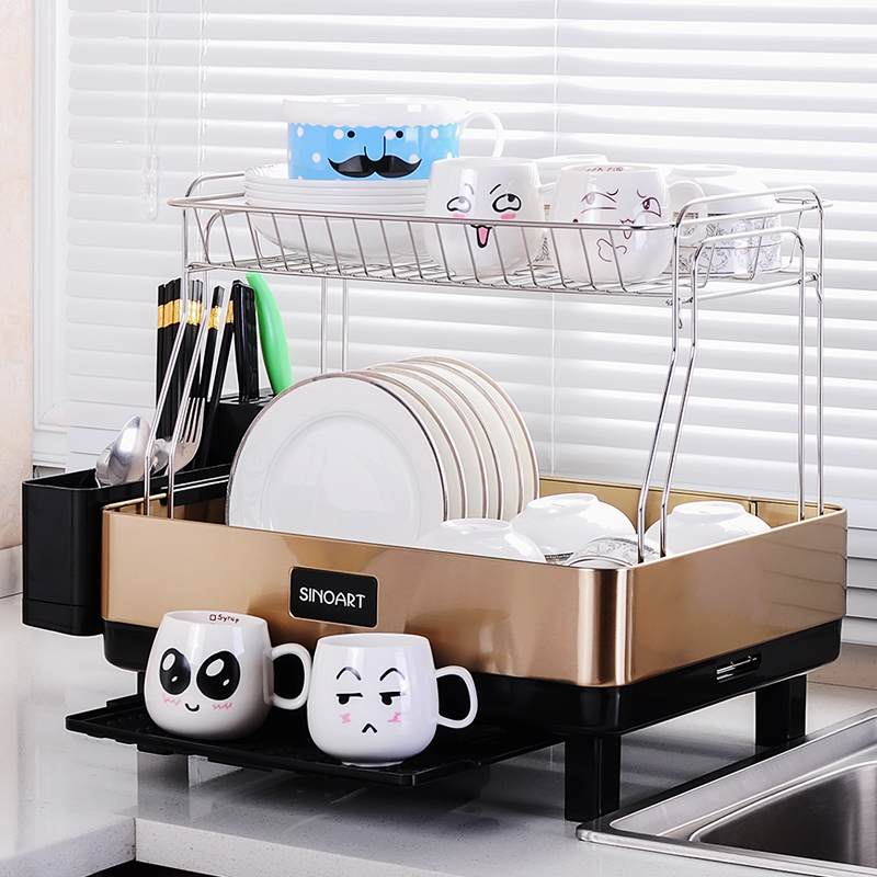 Superieur Limited Prateleira Stainless Steel Kitchen Shelf Rack Drainboard Dish  Utensils Drying Dishes Storage Non Folding Tableware  In Storage Holders U0026  Racks From ...