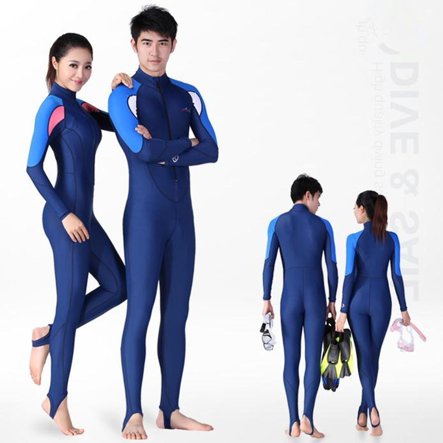 2017 New Full Body Spandex Wetsuit Women Men Spearfishing Surfing Wetsuits Swimming Jumpsuit Surf Dive Long Sleeve Wet Suit UV