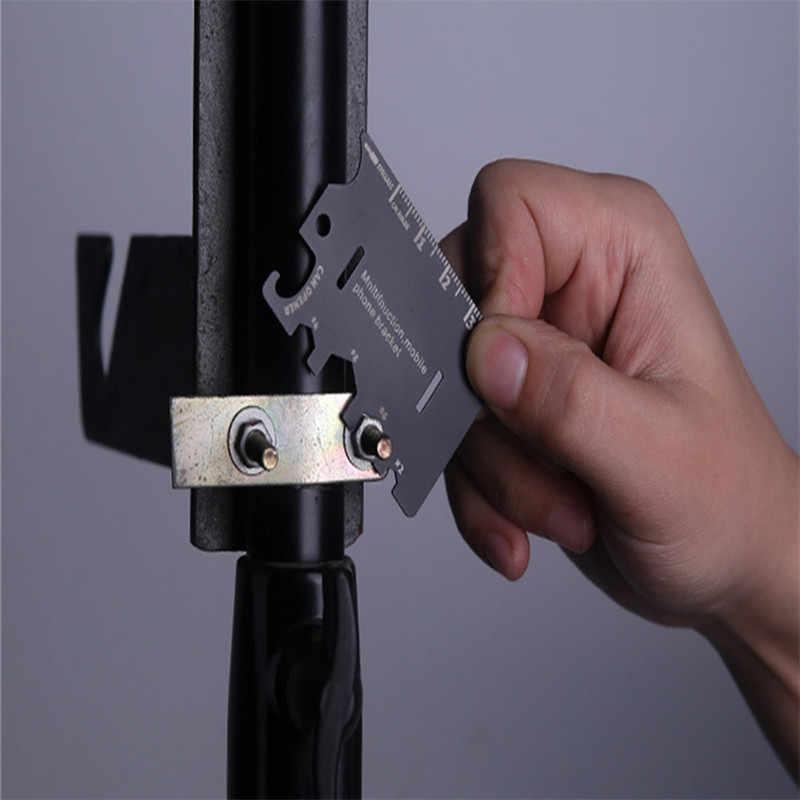Принадлежности туристические многофункциональные армейские ножи карты мобильного телефона кронштейн кредитные карты портативный инструмент карты складной нож