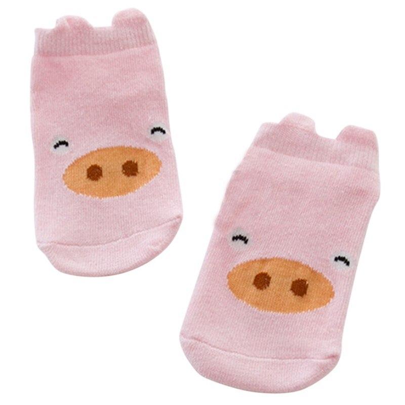 1-4Years-Kids-Baby-Unisex-Girl-Boy-Cotton-Cartoon-Animal-Anti-Slip-Boots-Ankle-Socks-4