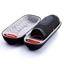Le plus récent sac de poche EVA pour JBL Charge 3 étui de protection de voyage pour jbl charge3 haut parleur Bluetooth prise despace supplémentaire et câbles
