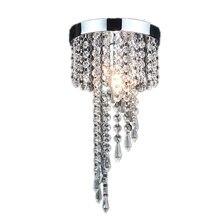 Modern chrome/Golden lustre LED Crystal chandelier lighting Fixture Pendant Ceiling Lamp
