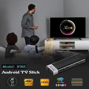 Image 5 - X96s smart tv box 2 gb 16gb 4g 32 gb android 8.1, tv box 5.0 wi fi bluetooth 1000m media player x96 tv box android tv stick