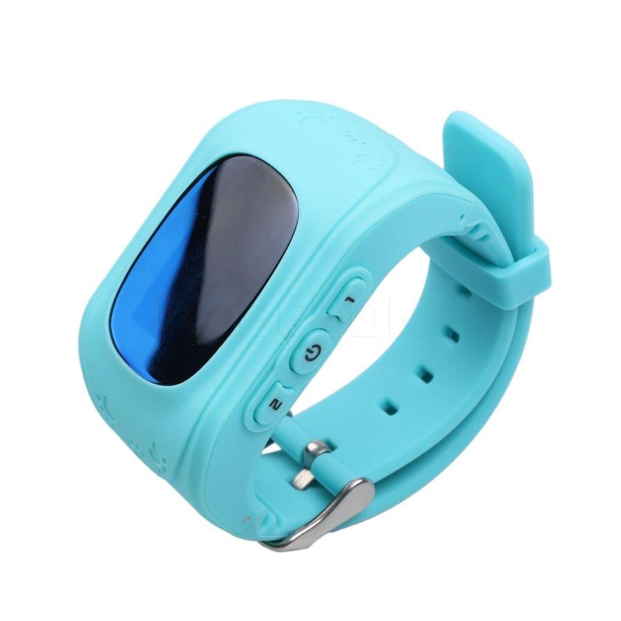 imágenes para Q50 Ruso GPS Tracker Reloj Inteligente Perdida Anti del Recordatorio Para niños SOS GSM Para Android GSM de Emergencia Elegante Pulsera de la pulsera alarma