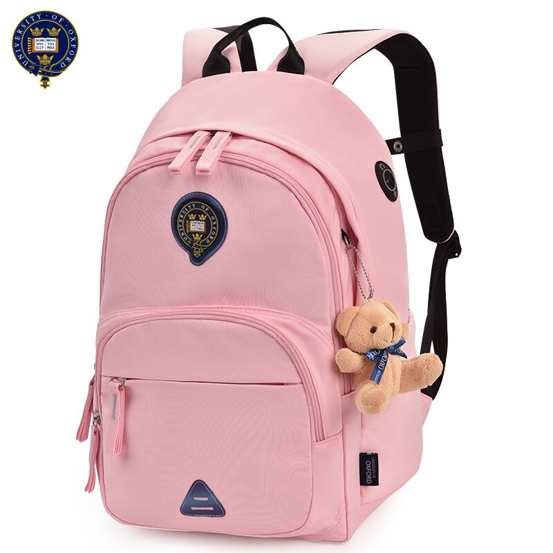 UNIVERSITY OF OXFORD CHILDREN PRIMARY MIDDLE School Bag casual shoulder backpack portfolio for Girls class 4