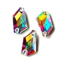 Crystal AB De-Art Glass Rhinestone Flatback Strass Stones Applique Jewelry making Costume Dress sew on Rhinestones