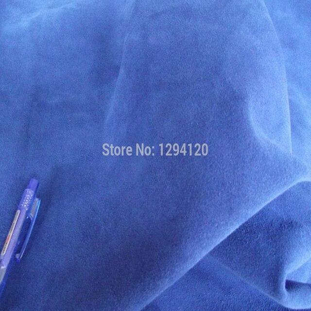 US $210.0 |100% Echt Split Blue Suede Koe Lederen Materiaal Blauw voor Brogan Laarzen, Handtas, Gratis Verzending in 100% Echt Split Blue Suede Koe