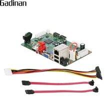 Gadinan h.265 hi3536c nvr 25ch * 5mp/8ch 4 k/32ch * 1080 p rede gravador de vídeo digital 4 k saída onvif cms xmeye p2p mible cctv