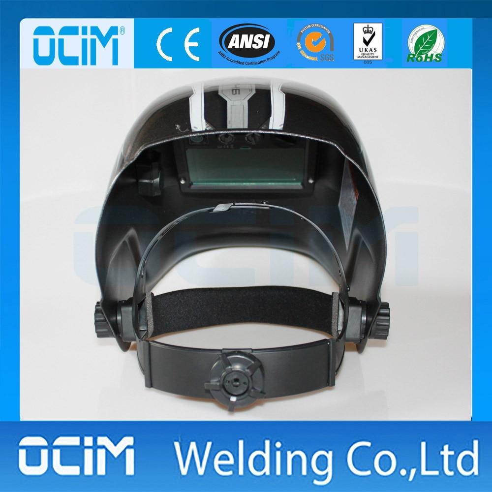 Hohe Qualität Solar-Auto Verdunkelung Schweißen Maske Mit UV/IR Schutz