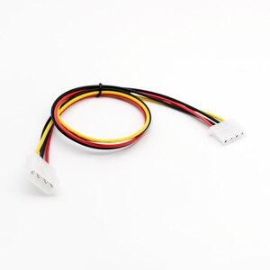 Image 2 - 1 PC 50 cm/1.5ft IDE 4 PIN Molex Power ชาย IDE 4 PIN Molex หญิง JACK EXTENSION สายเชื่อมต่ออะแดปเตอร์
