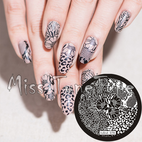 Aliexpress Buy New Stamping Plate Hehe76 Nail Art Template