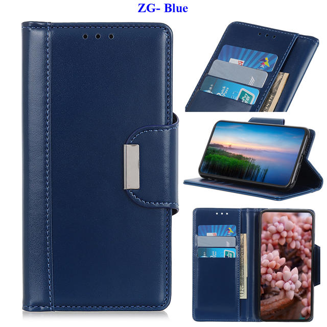 Business Magnetic Leather Wallet Case for iPhone 11/11 Pro/11 Pro Max 15