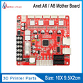 Anet 3D принтер основная плата управления обновленная материнская плата V1.7 RepRap Ramps1.4 Совместимость с Anet E12 нормальный A8 A6 3d принтер