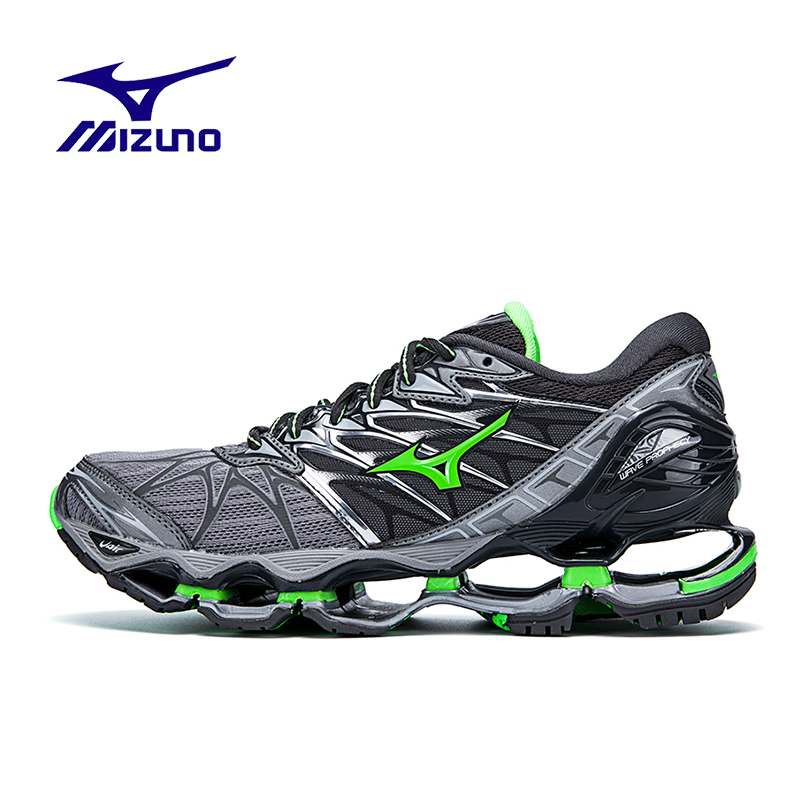 mizuno mens running shoes size 9 youth gold trainer top oil