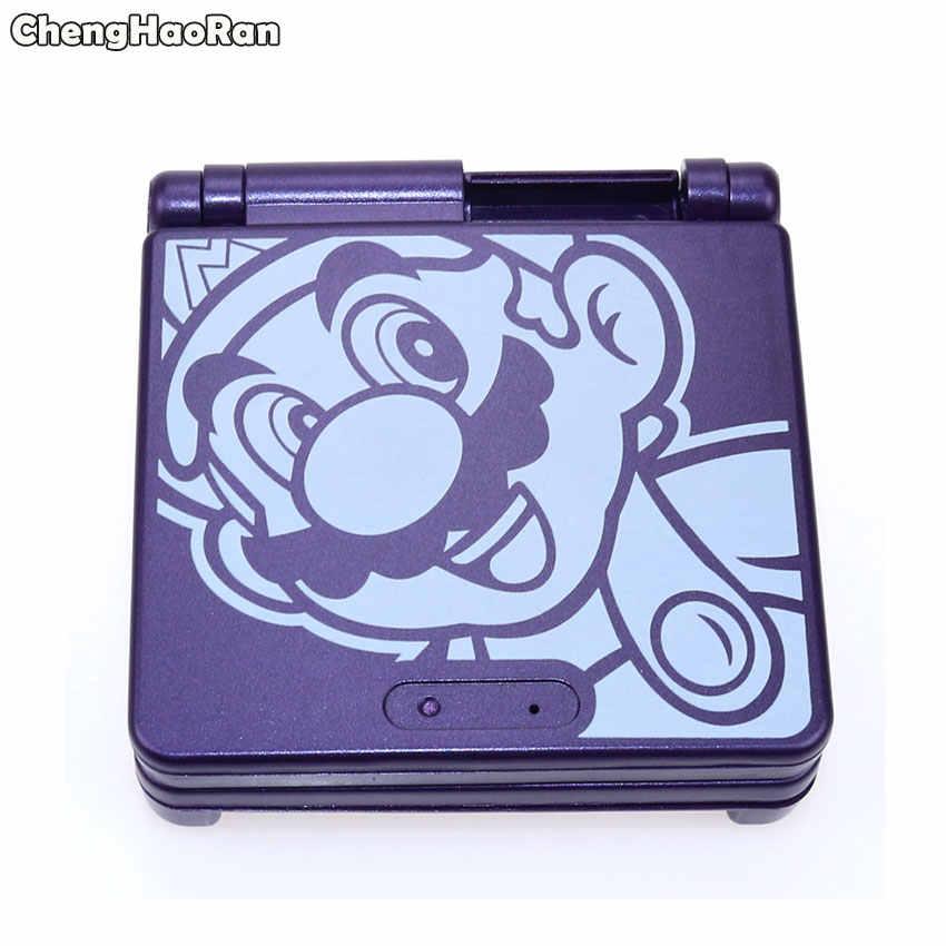 ChengHaoRan 1x קריקטורה מהדורה מוגבלת מלא שיכון מעטפת ערכת עבור Nintendo Gameboy Advance SP עבור GBA SP משחק קונסולת כיסוי מקרה