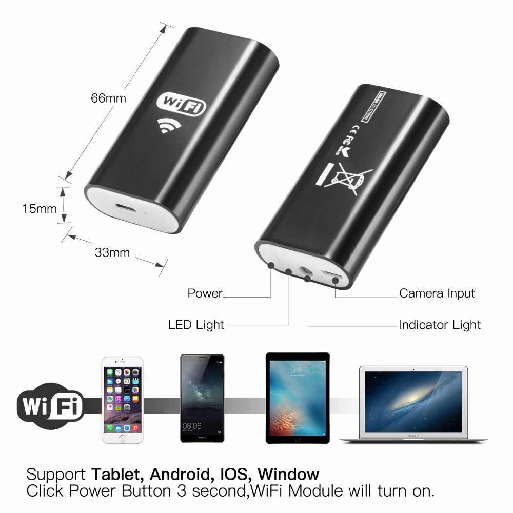 Wifi المنظار كاميرا الروبوت 720P 8 مللي متر 1m 2m 5m 7/10m كابل الأفعى مرنة منظار مزوّد بمنافذ USB ل فون كاميرا منظار فحص Endoscopio