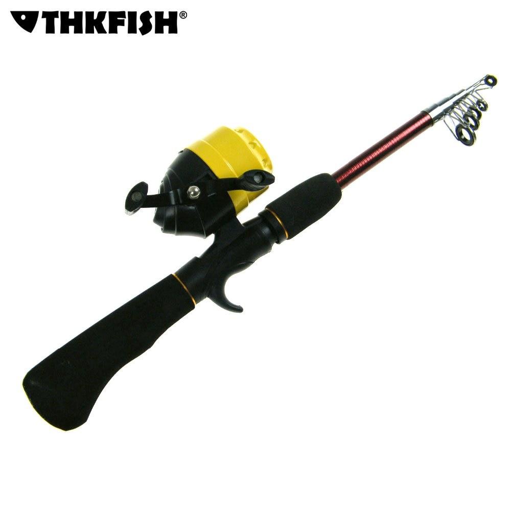 Mini portable casting lure fishing rod reel set for Fishing rod set