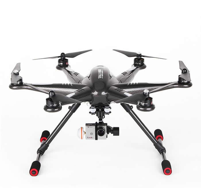 Hot sell Walkera H500 2.4G 6-axis Professional RC Drone FPV with HD Camera DEVO F12E Battery G-3D Gimbal Charger ILOOK+ Full Set