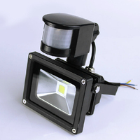 LED Flood Light PIR Motion Sensor Induction Sense 10W 20W 30W 50W 70W 85 265V Detective