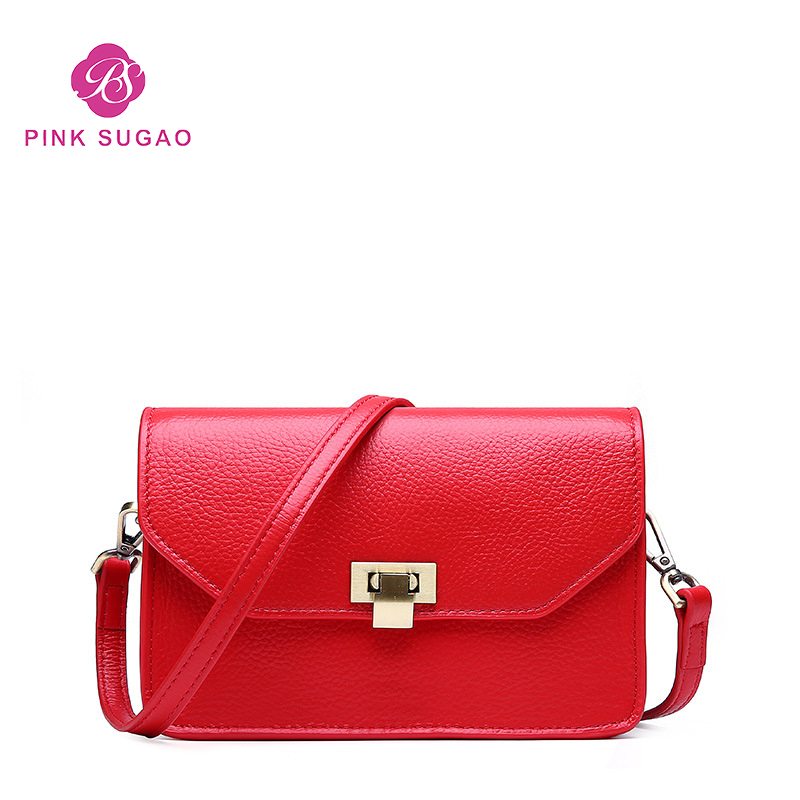 Pink sugao luxury shoulder bag for women designer fashion messenger bags top genuine leather simple messenger bag 2019 mini bagPink sugao luxury shoulder bag for women designer fashion messenger bags top genuine leather simple messenger bag 2019 mini bag