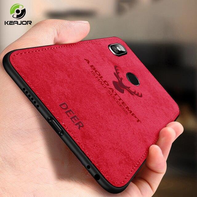 Case For Xiaomi Redmi Note 6 Pro Case Soft Fabric TPU Silicone Bumper Redmi Note 6 Pro Cover For Xiaomi Redmi Note 6 Pro Case