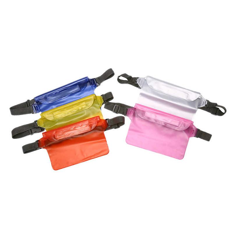 Tahan Air Drift Menyelam Renang Tas Kering Underwater Bahu Pinggang Pack Tas Kantong Saku untuk Mobile Phone Case Cover/Kamera