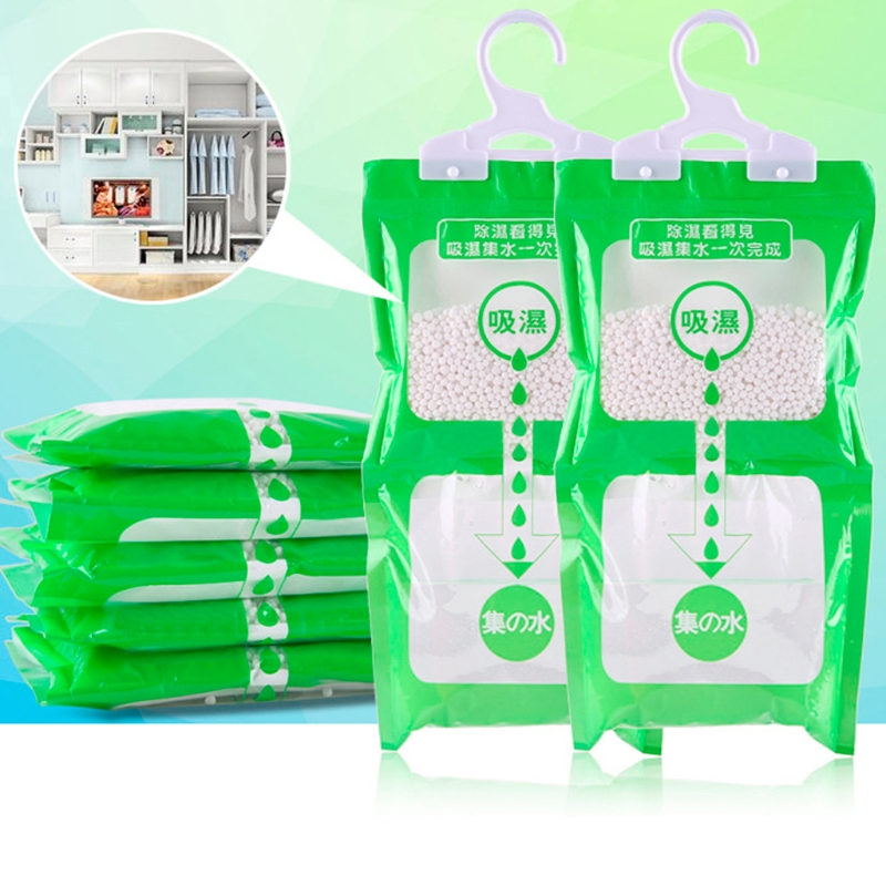 Desiccant Bag Household Wardrobe Closet Hanging Moisture Absorbent Dehumidizer