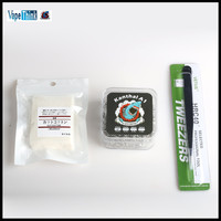 Vapethink Kanthal A1 Coils 200Pcs 5Pcs Muji Organic Cotton Comes Together 1Pc E Cigarette Vape Tweezer