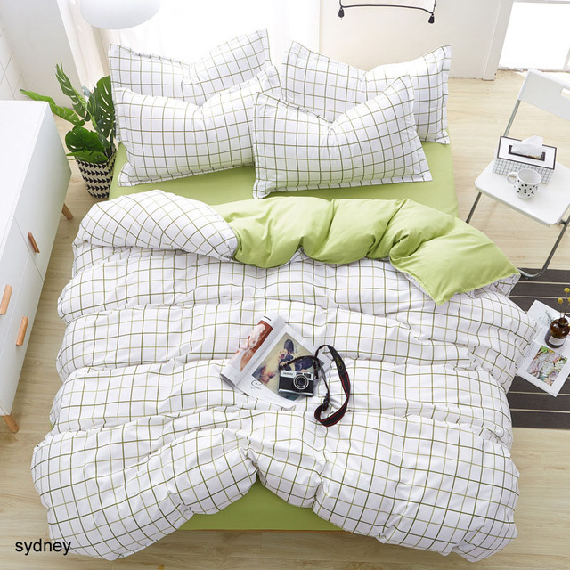 Geometric Dorm Bedding Set
