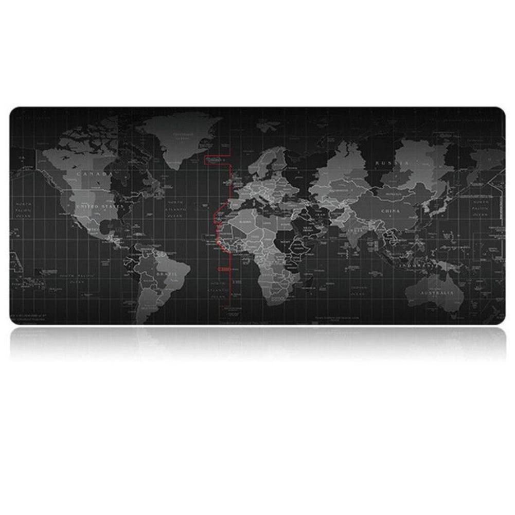 Sago 900*400mm tapis de souris de jeu verrouillage bord tapis de souris carte du monde tapis de souris pour Macbook souris d'ordinateur portable lecteur d'ordinateur Notbook
