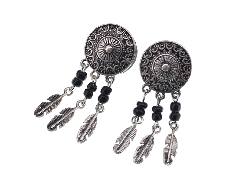 Женские серьги в стиле панк ювелирные изделия для пирсинга полированные