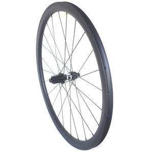 Image 5 - Disc brake clincher road carbon wheels center lock 38mm 45mm 50mm 60mm tubular wheelset 25mm width